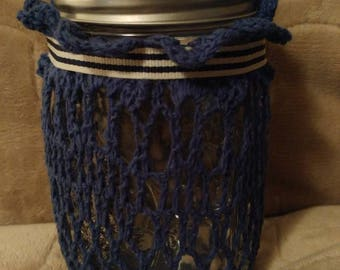 Mason jar luminary - pint size