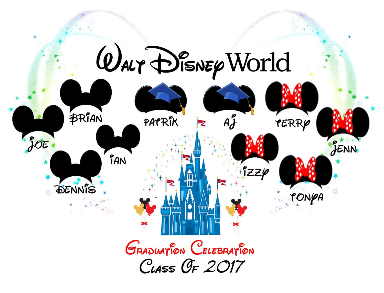 Graduation Celebration 2017 2018 Walt Disney World
