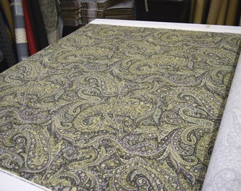 """Covington Designer Fabric Manchester in Gunmetal 100% Cotton  Upholstery & Home Decor Fabric 54""""Wide by the yd"""