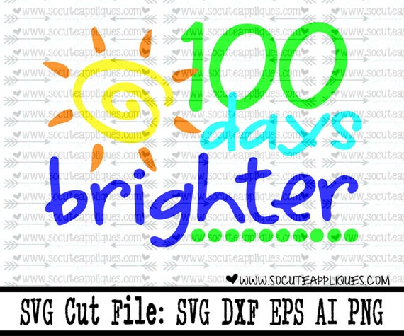 100 Days Of School Svg Back To School Svg