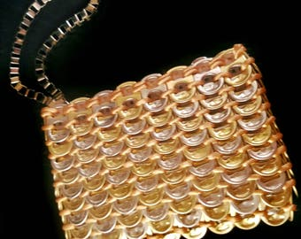 Gold Tone Wallet | Soda Tab | Handmade | Made to Order | Upcycle