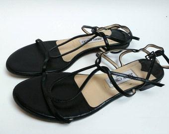 Vintage Jimmy Choo sandals straps original
