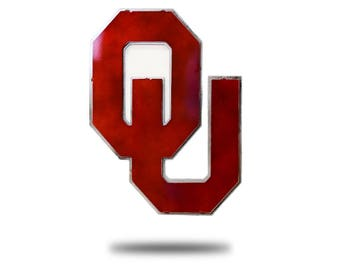 University of Oklahoma 3D metal Artwork