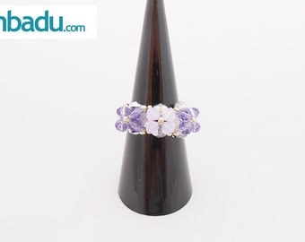 Ring Swarovski tupis flower