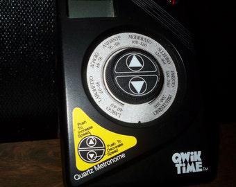 Qwik Time Quartz Metronome
