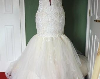 Galia Rhianna inspired wedding dress
