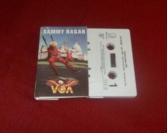Sammy Hagar Cassette VOA Hard Rock, Heavy Metal, Van Halen, Montrose, I Can't Drive 55, The Red Rocker, 80's Rock, Gift for Metalhead Rocker