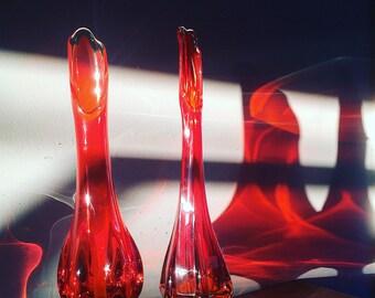 MCM Viking glass vases