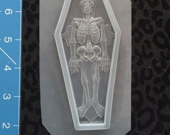 Skeleton & Coffin mold