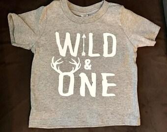 Wild First Birthday Shirt
