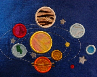 Solar System Applique Tee Shirt