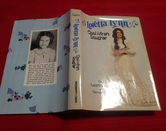 Loretta Lynn Coal Miner's Daughter, With George Vecsey, Signed Copy. Hard Cover