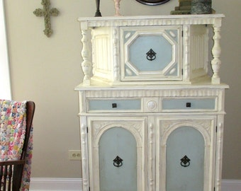jacobean cabinet jacobean court cabinet highboy dresser dining room furniture painted furniture