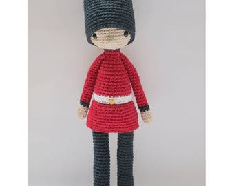 Jack, the Royal Guard - Crochet Pattern by {Amour Fou}