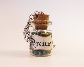 Dreams Bottle Necklace