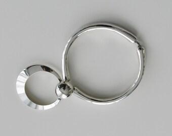 Kaija Aarikka  Sterling Silver Necklace no. 24 from the Studo Collection 1970s Finland Mid Century Scandinavian Design