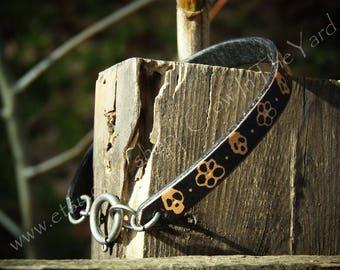 """Leather Bracelet/Anklet 8.5"""""""