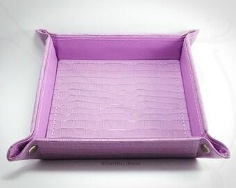 Leatherette Valet Tray / Catch all tray / key tary / Organizer / Gift ideas / Office / Home Décor / Office Décor ideas / Tidy Tray / Vegan