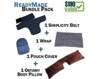 PouchWear ReadyMade Bundle Pack: 1 Simplicity Belt + 1 Wrap + 1 Pillow + 1 Pouch Cover
