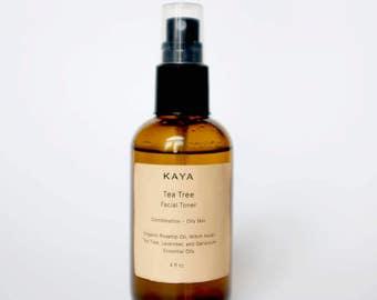 Tea Tree Facial Toner | Skin Tonic | Combination – Oily Skin | All natural | Vegan | Tea Tree Oil