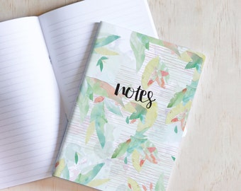 Notebook, Journal, Jotter, 60 Page, Watercolour