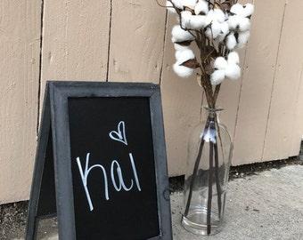 Chalkboard Easel, Chalkboard, Wedding Chalkboard, Tabletop Chalkboard, Wedding Sign, Wedding Signage, Menu Sign, Wood Frame, Blackboard