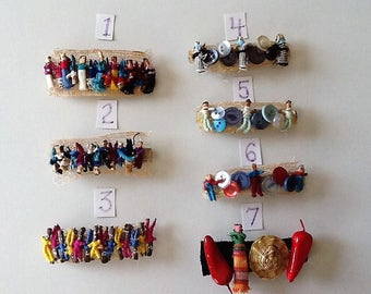 Worry Doll Hair Barrette