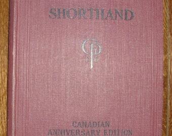 Vintage Gregg Shorthand - Canadian Anniversary Edition