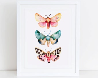 Butterfly Art Print, Butterflies Printable, Instant Download,  Printable Home Decor, Digital Art, Butterfly Art, Butterfly Print, Moth
