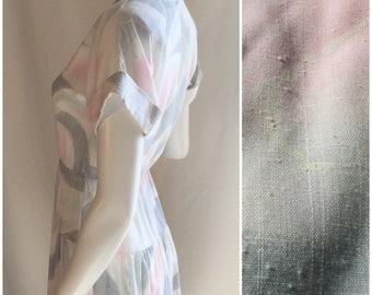Sally Petite Print Dress