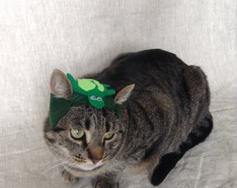 Turtle Hat for Cats