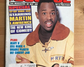 The Source Magazine 1993 Martin Lawrence Heavy D EPMD CB4 Digable Planets Def Comedy Jam