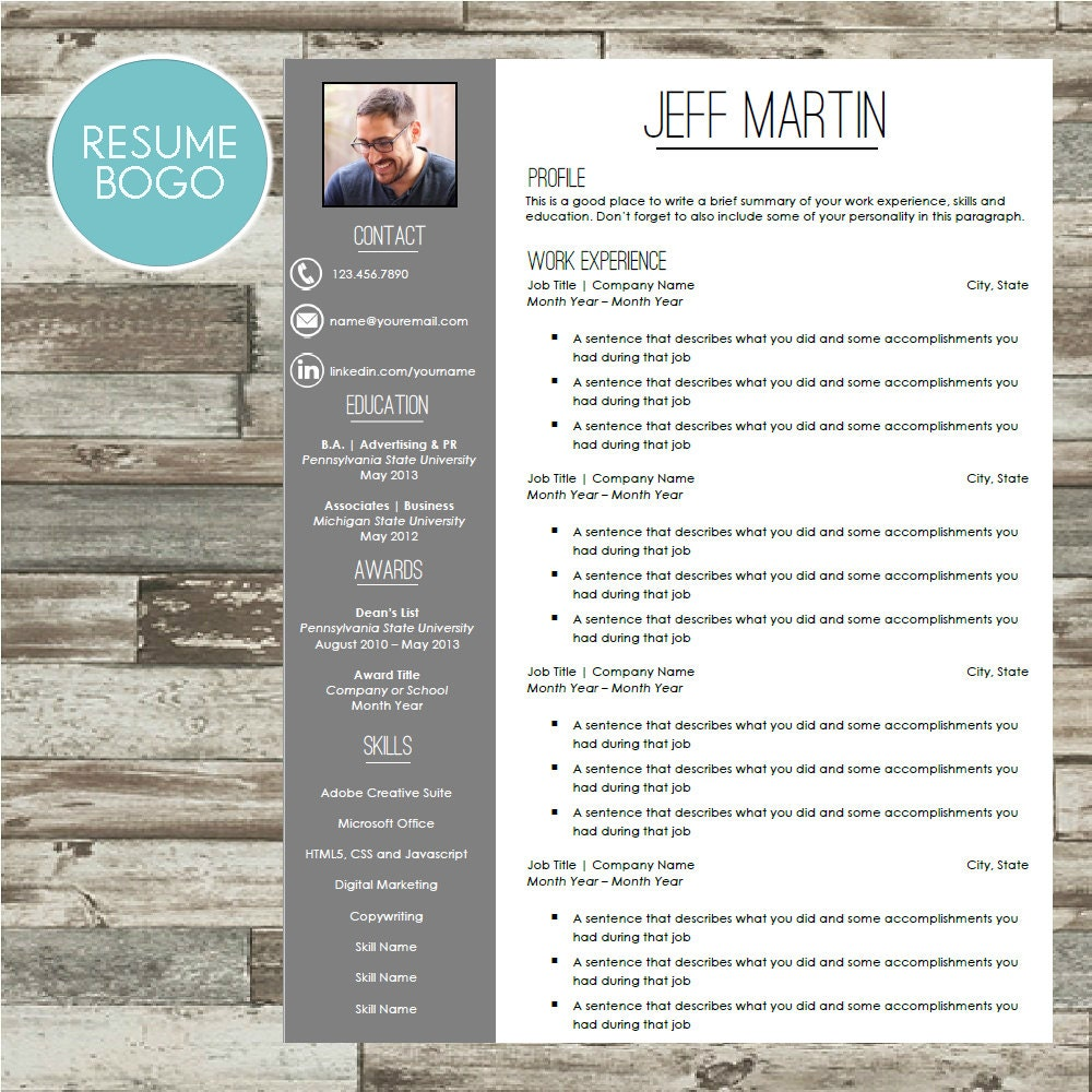 resume template professional cv template by sophisticatedresumes