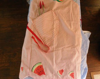 Bib watermelon apron