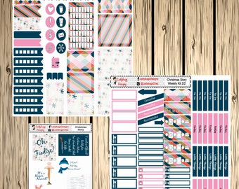 Christmas Story  Stickers for your Erin Condren Planner Ralph Oh Fudge
