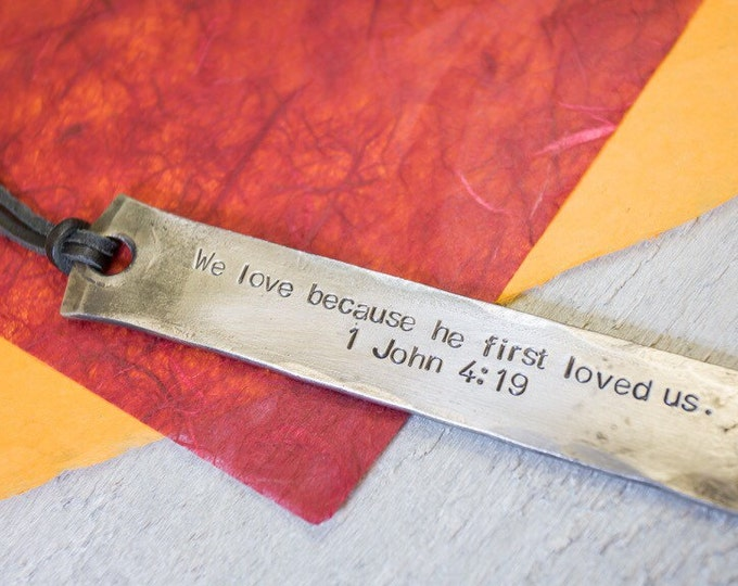 Mothers Day Personalised Bookmark