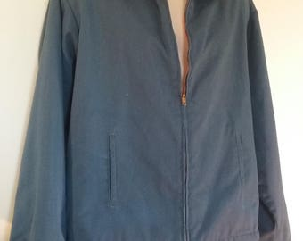 Vintage BIG MAC Tall Extra Large Jacket JC Penney Made in U.S.A. Blue