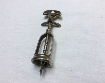 Vintage French Corkscrew – Wine Bottle Opener – Propellor Corkscrew - Cottage Style