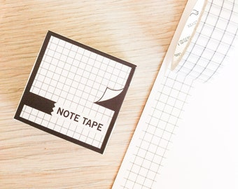 Cute washi tape - note tape #8 | Cute Stationery