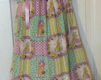Purple Girl Pillowcase Dress Size 4T