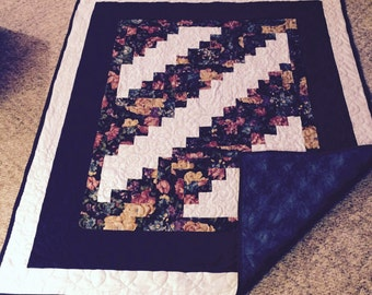 Pretty in Blue Throw