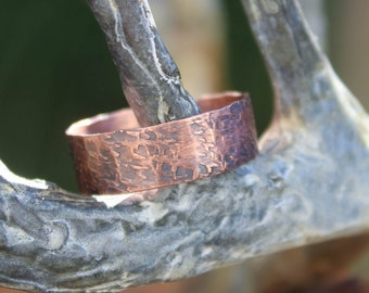 Simply Copper 2 - A simple handmade copper ring.