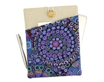 iPad Air case, iPad cover, iPad mini sleeve, iPad Air 2 case, iPad Pro 9.7, iPad Air cover, iPad Pro, iPad mini 3 pouch, Purple floral