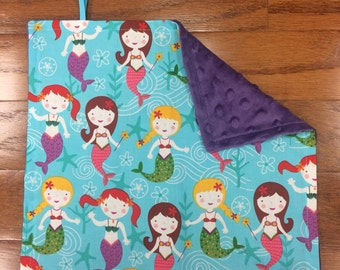 Mermaid Pacifier Blanket