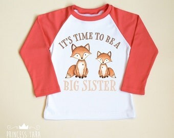 Big Sister Shirt. Big Sister Announcement. Big Sis Shirt. New Sister Shirt. Raglan Kids Shirt. Big Sister Gift. I'm Going To Be A Big Sister