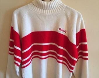 A vintage 1970's Yamaha Turtle Neck Sweater.