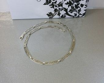 Chain Silver 925 chain Mexico vintage MD10 MEX925 SK866