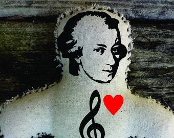 Wolfgang Amadeus Mozart Voodoo Doll