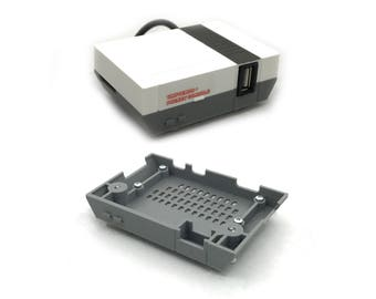 The Original Tinytendo Pocket Case, Raspberry Pi Zero Case, Raspberry Pi Zero Board NOT INCLUDED, 3D printed, NES raspberry pi case