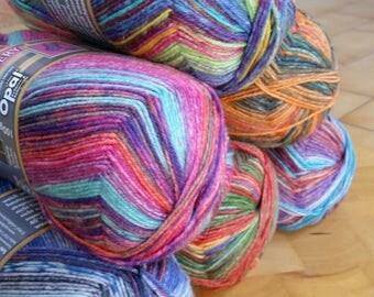 Opal sock yarn, GALLERY, 4 Ply , 100g, 425 mts, wool and nylon
